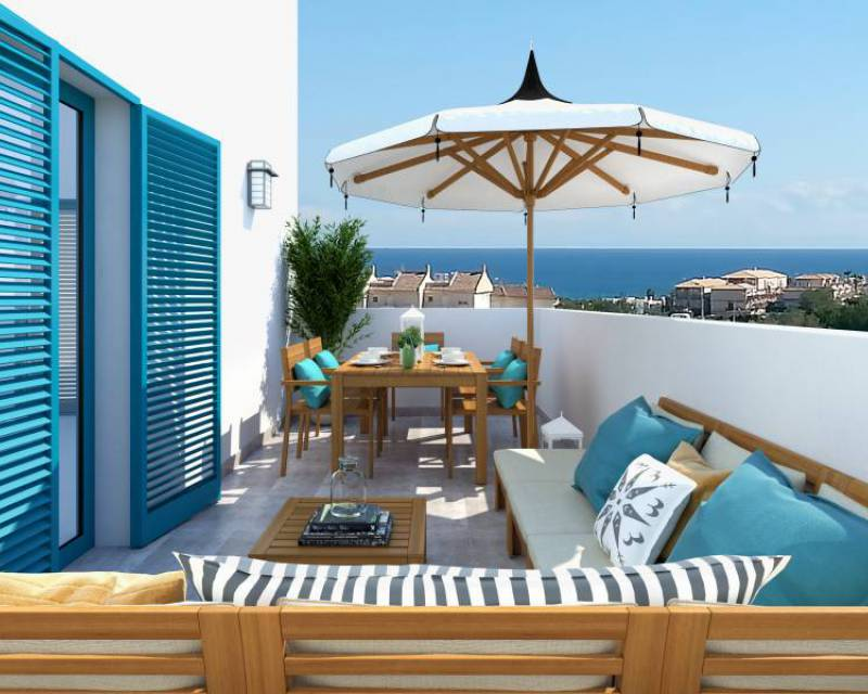 Bungalovi - New Build - Orihuela Costa - Playa Flamenca