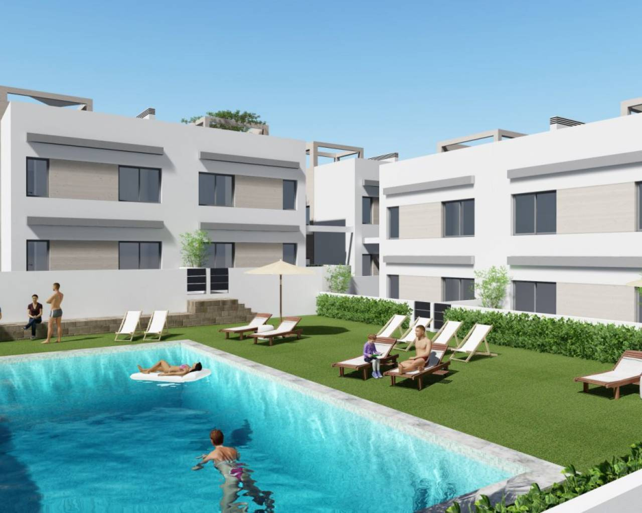New Build - Bungalow - Orihuela Costa - Punta Prima