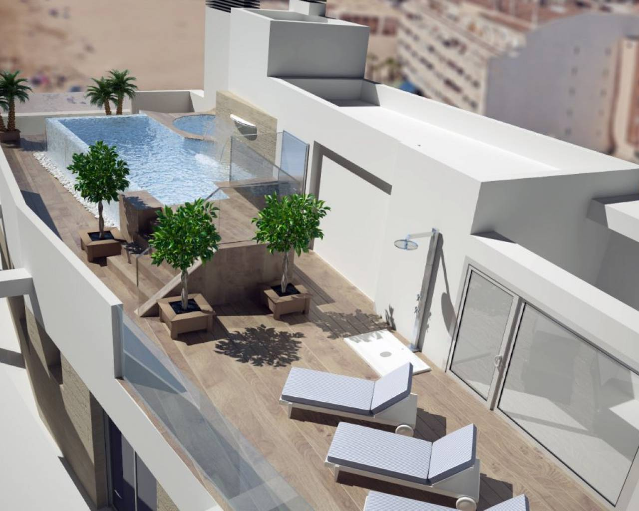 New Build - Huoneisto - Torrevieja - La Mata pueblo
