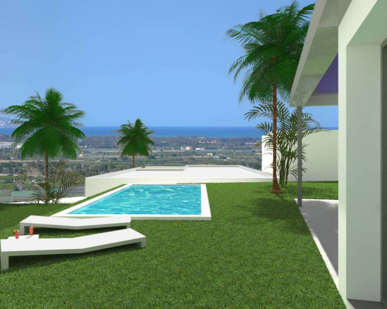 New Build - Huvila - Ciudad quesada - CAMPO DE GOLF