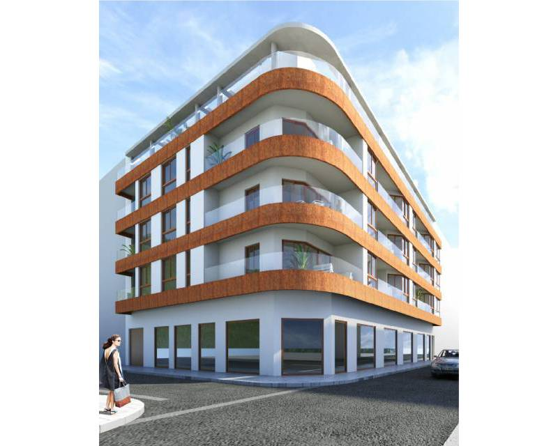 Huoneisto - New Build - Torrevieja - Playa de los locos